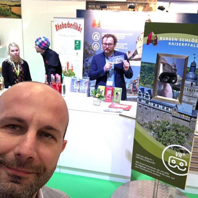 Harz VR App Stand Grüne Woche