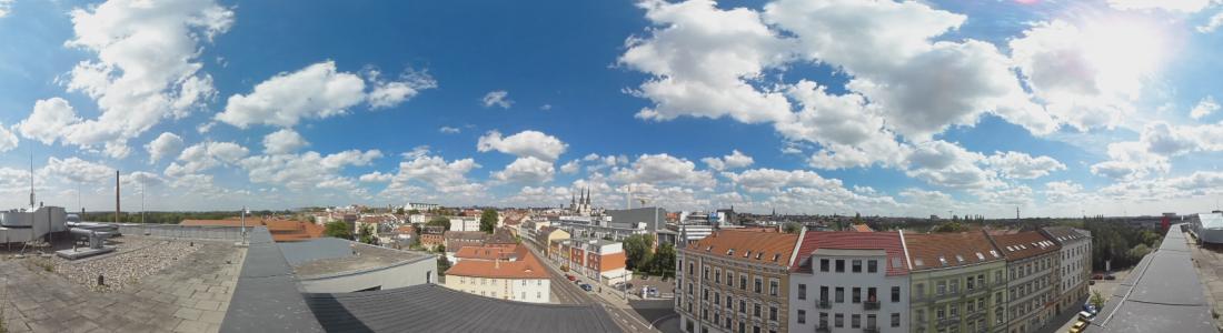 360 Grad Video VR Zeitraffer MMZ Halle
